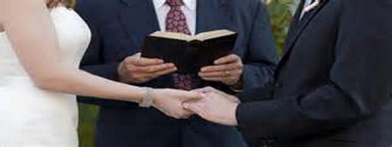 Pastor and Weddings